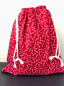 Red Arrow Valentine Drawstring Gift Bag