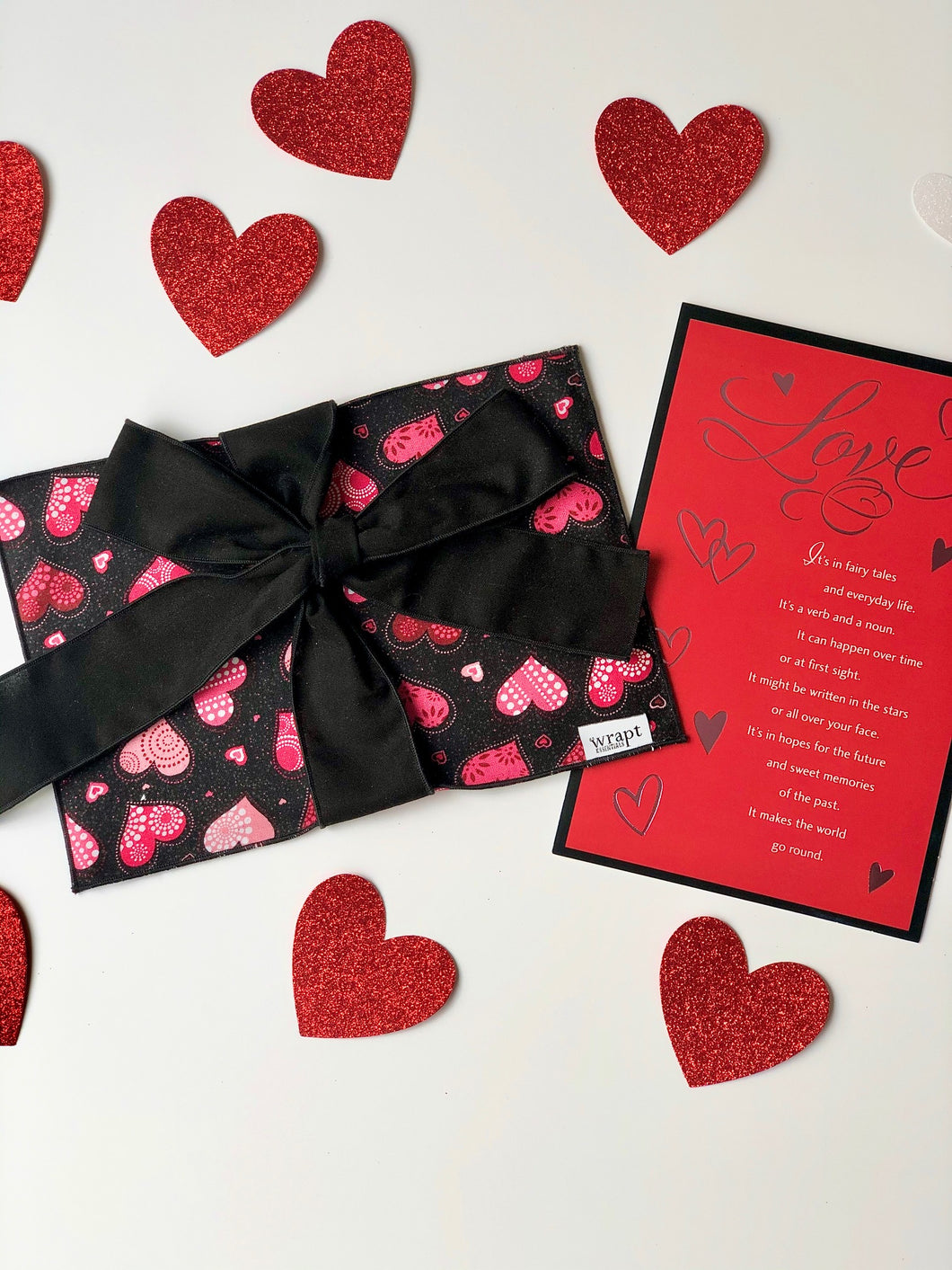 Be Mine Valentine Greeting Card Wrap
