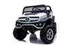 MERCEDES BENZ UNIMOG ATV 12V 2 SEATER - WHITE