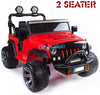 JEEP WRANGLER KIDS RIDE ON CAR 12V - RED