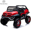 MERCEDES BENZ UNIMOG ATV 12V 2 SEATER - RED