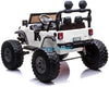 LIFTED JEEP MONSTER EDITION RIDE ON CAR 12V - WHITE |IN STOCK|