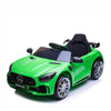 MERCEDES BENZ AMG GTR 12V KIDS RIDE ON 1 SEAT- GREEN |IN STOCK|