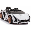 LAMBORGHINI SIAN 4WD 12V KIDS RIDE ON - WHITE | Pre Order |