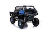 MERCEDES BENZ UNIMOG ATV 12V 2 SEATER - BLUE