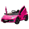 LAMBORGHINI AVENTADOR SVJ KIDS RIDE ON CAR 12V - PINK