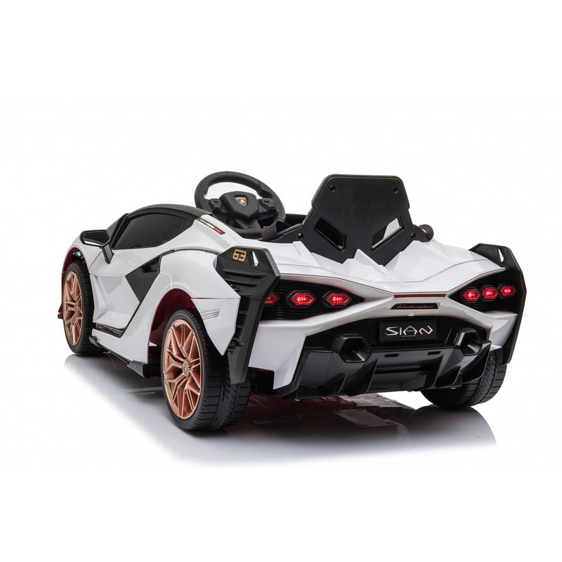 LAMBORGHINI SIAN 4WD 12V KIDS RIDE ON - WHITE |IN STOCK|