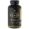 Sports Research Vitamin K2 + D3 with Coconut Oil -  Cápsulas Blandas Vegetales - Puro Estado Fisico
