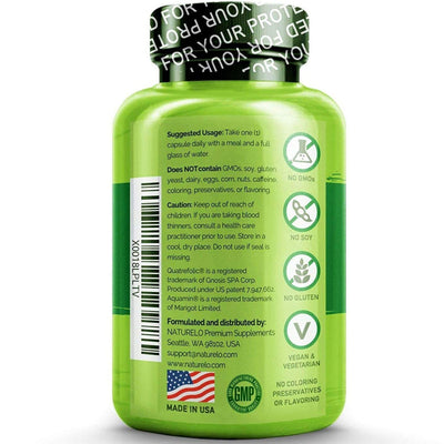 Naturelo One Daily Multivitamin for Men 50+ Cápsulas Vegetarianas - Puro Estado Fisico