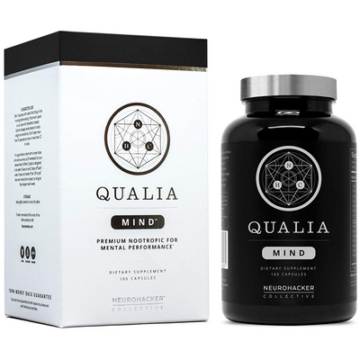 Neurohacker Collective QUALIA MIND - Vegetarian Capsules - Puro Estado Fisico