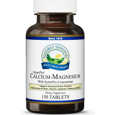Nature's Sunshine Calcium Magnesium - 150 Tabletas - Puro Estado Fisico