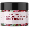Verma Farms Tropical Cherry CBD Gummies - 13 Gomitas - Puro Estado Fisico