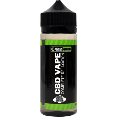Hemp Bombs CBD Vape E-Liquid 4000 mg - 120 ml - Puro Estado Fisico