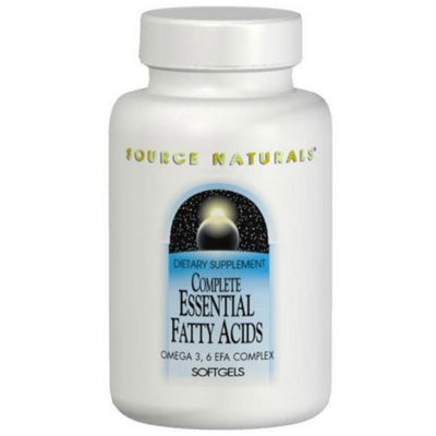 Source Naturals Complete Essential Fatty - 60 Cápsulas Blandas - Puro Estado Fisico