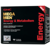 GNC Mega Men Energy & Metabolism Vitapak Program - 30 Paquetes - Puro Estado Fisico