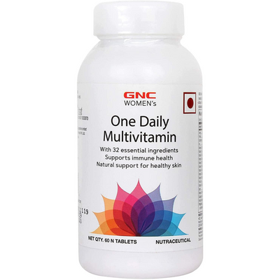 GNC Womens Ultra Mega One Daily - 60 Cápsulas - Puro Estado Fisico