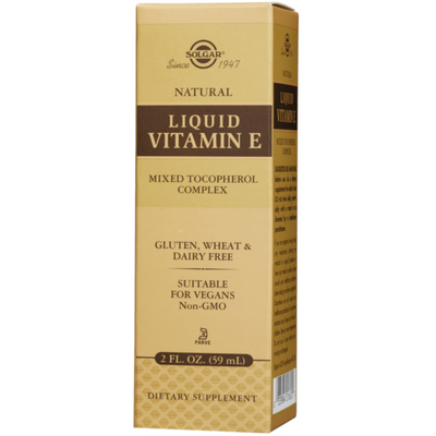 Solgar Liquid Vitamin E - 59.2 ml - Puro Estado Fisico