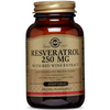 Solgar Resveratrol 250 mg with Red Wine Extract - Softgels - Puro Estado Fisico