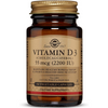 Solgar Vitamin D3 (Cholecalciferol) 2200 IU - Vegetable Capsules - Puro Estado Fisico