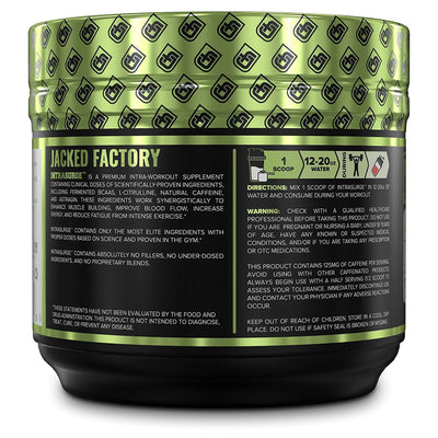 Jacked Factory INTRASURGE Intra Workout - Ponche de Frutas - 240 g - Puro Estado Fisico