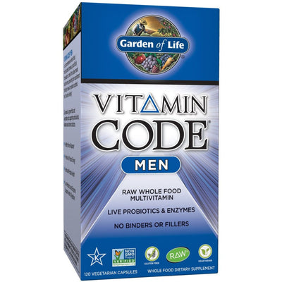 Garden of Life Vitamin Code Men's Multivitamin - Puro Estado Fisico