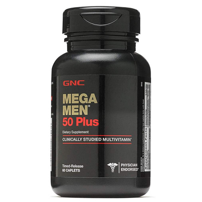 GNC Mega Men 50 Plus - 60 Comprimidos - Puro Estado Fisico