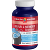 Health Solution Prime Brain and Memory Booster - 60 Cápsulas - Puro Estado Fisico