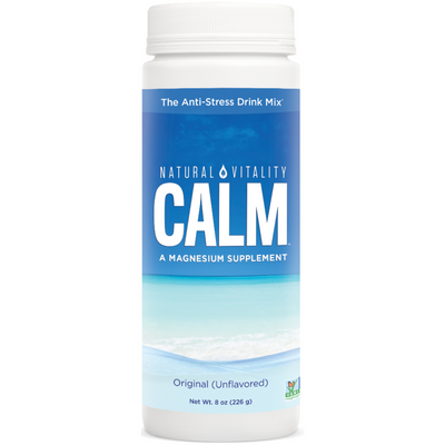 Natural Vitality Calm a Magnesium Supplement - 226 g - Puro Estado Fisico