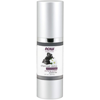 NOW Solutions Charcoal Detox Moisturizer - 30 ml - Puro Estado Fisico