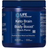 Life Extension Keto Brain and Body Boost - Melocotón - 400 g - Puro Estado Fisico