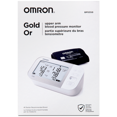 Omron Gold Bluetooth BP5350 Tensiometro Digital - Puro Estado Fisico