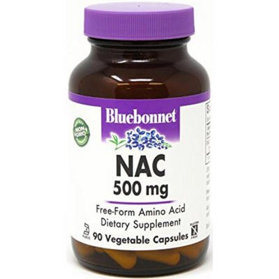 Bluebonnet NAC 500 mg - Vegetable Capsules - Puro Estado Fisico