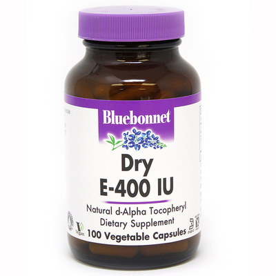 Bluebonnet Dry E-400 IU - Vegetable Capsules - Puro Estado Fisico