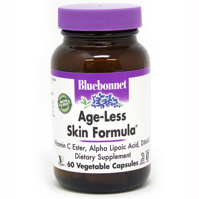 Bluebonnet Age-Less Skin Formula - Vegetable Capsules - Puro Estado Fisico