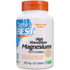 Doctor's Best High Absorption Magnesium 100% Chelated - Tablets - Puro Estado Fisico