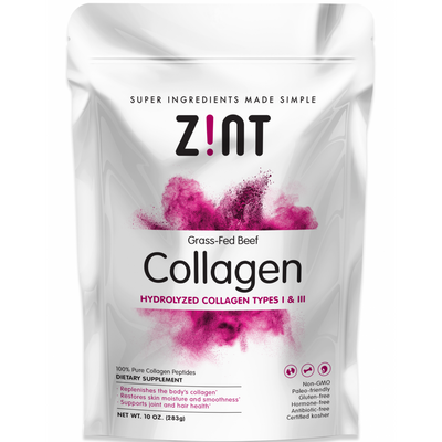 Zint Collagen Hydrolized Types I and II - Polvo - Puro Estado Fisico