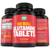 Raw Barrel No Bull Glutamine 1000 mg - 120 Tabletas - Puro Estado Fisico