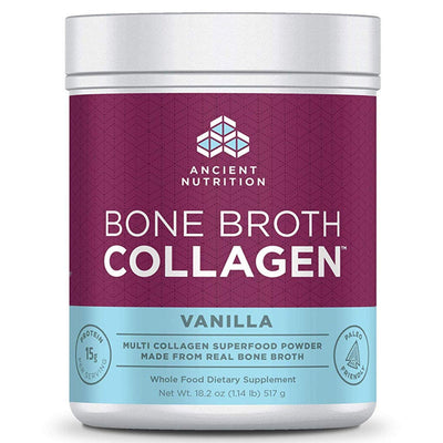 Ancient Nutrition Bone Broth Collagen - 30 Servicios - Puro Estado Fisico