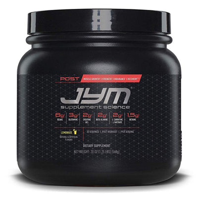 JYM Supplement Science Post JYM Active Matrix - 30 Servicios - Puro Estado Fisico