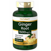 Horbaach Ginger Root 1500 mg - 200 Cápsulas - Puro Estado Fisico