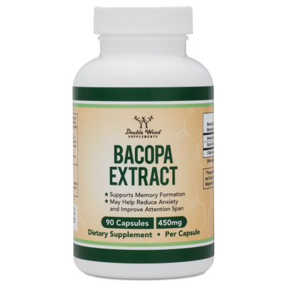 Double Wood Bacopa Extract - 90 Cápsulas - Puro Estado Fisico