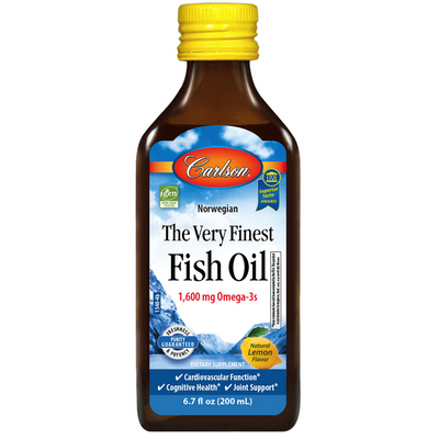 Carlson The Very Finest Fish Oil - 1600 mg - Puro Estado Fisico