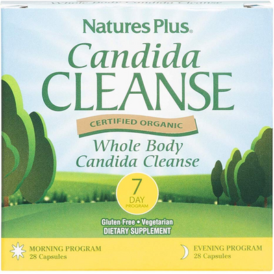 Natures Plus Candida Cleanse Program 7 Day - 14 Servicios - Puro Estado Fisico