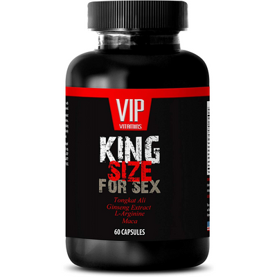 VIP Vitamins King Size For Sex Mens - 60 Cápsulas - Puro Estado Fisico