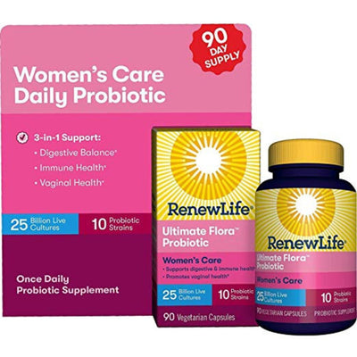 Renew Life Ultimate Flora Probiotic Women's Care 25 Billion - Puro Estado Fisico