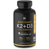 Sports Research Vitamin K2 + D3 with Coconut Oil - 60 Cápsulas Blandas Vegetales - Puro Estado Fisico