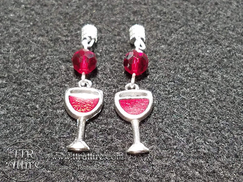 Red, Red Wine Interchangeable Charm Set