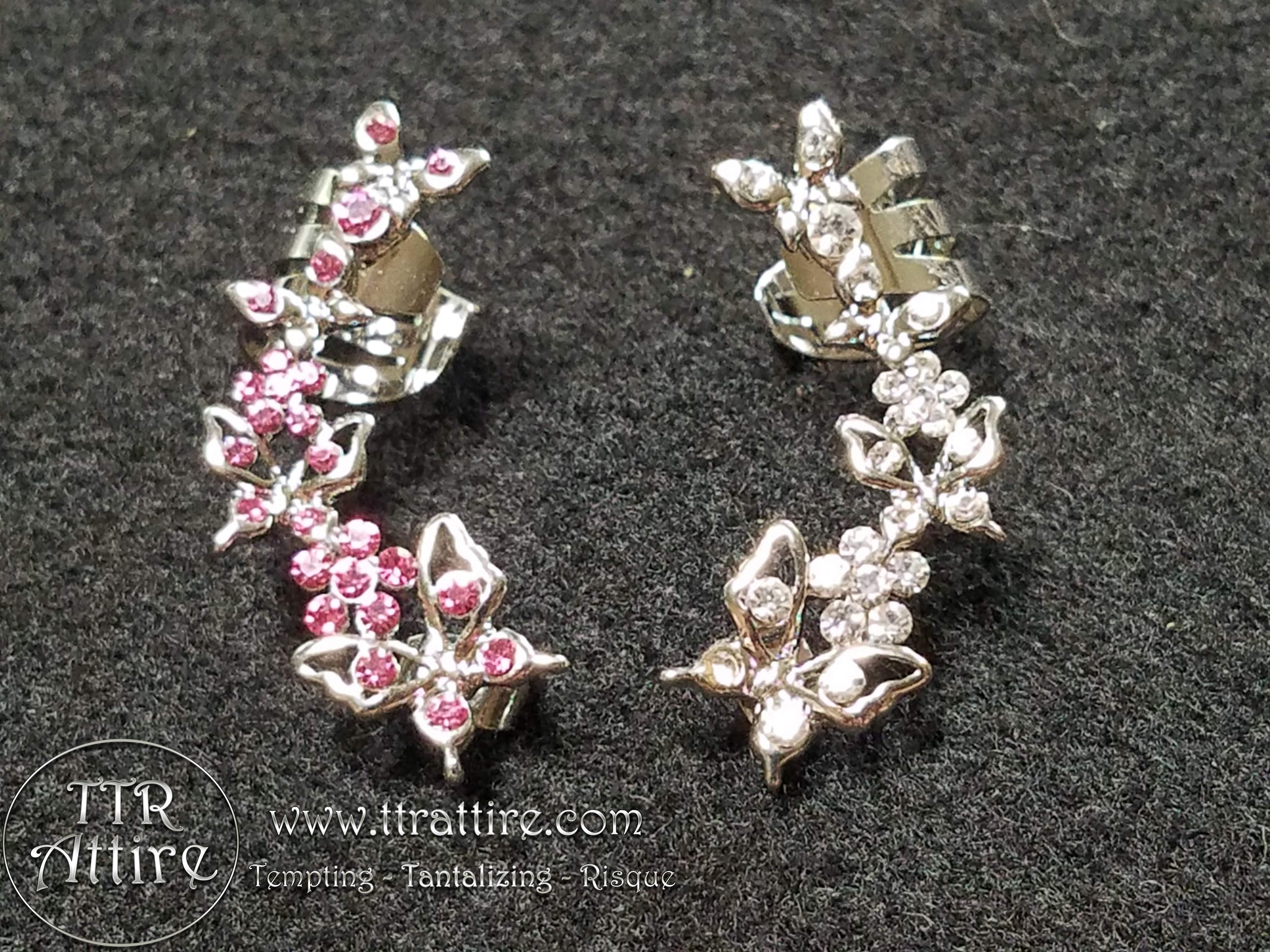 Beautiful Butterfly Ear Cuffs