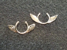 Angel Wings - Non Piercing Nipple Shield - Silver, Gold, Rose Gold
