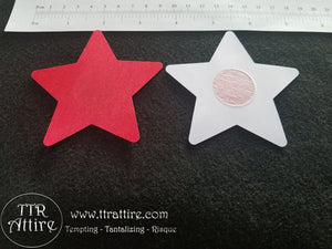 Stars Rainbow Patterned - Sun burn protectors / Nipple Shields / Pasties